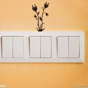 Fantastic Job Switch Sticker Wall Children'S Room Bedroom Wall 19*10Cm 4Pcs