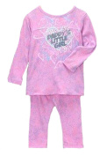 Baby Girls' Daddy's Little Girl Heart Tunic and Leggings 2 Piece Set