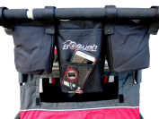 Booyah Strollers Stroller Organiser for Child and Large Pet Stroller.