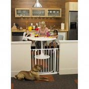 Easy-Close Wall Mounted Pet Gate