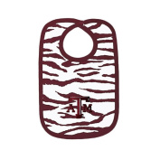 Texas A & M Animal Print Baby Bib