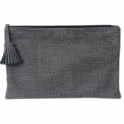 Korea Stylish Fashion Women's Tassel Ball Clutch Bag One Size