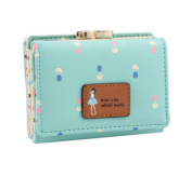 edfamily Women Wallet Leather Mini Clutch Credit Card Holder Small Purse