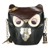 Women's Shoulder Bag Owl Cute Girls Handbag Cross Body Purse Bag