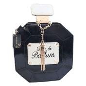 Donalworld® Women Chain Perfume Bottle Clutch Bag Handbag Party Purse Evening Bag