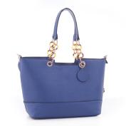 Lubanah Elegant Designer Inspired Faux Leather Tote Shoulder Handbag