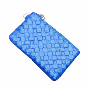 GBSELL Fashion Lady Women Weave Solid Zipper Coin Purse Wallet Handba