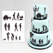 Family Silhouette Cutter Set by Patchwork Cutters