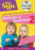 Babies & Toddlers 2 DVD & CD Set