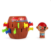 NERLMIAY Funny interesting Stab Pop Up Toy Gadget Pirate Barrel Game Toy
