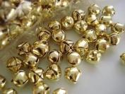 100pc Gold Jingle Bell (M8-Gold) US SELLER SHIP FAST