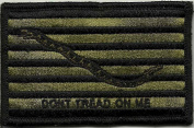 Shoulder Patch - Navy Jack Don't Tread On Me - Olive Drab