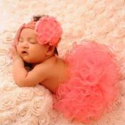 MALLCITY Lovely Newborn Tutu Clothes Skirt Baby Girls Knitted Crochet Photo Prop Outfits