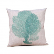 Usstore Cotton Linen Leaning Cushion Cover Pillowslip Case Home Decor