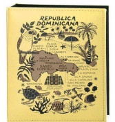 Dominican Republic Embossed Photo Album 200 Photos / 4x6