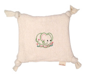 Cherub's Blanket Organic Teething Blanket Lovie- Perfect Baby Gift - MADE IN THE USA - 100 & Natural and Baby Safe