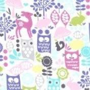 Preschool Nap Mat Sheet (Forest Life