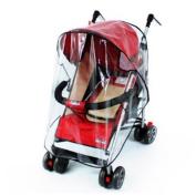 DASHUHUWAI® Universal Strollers Pushchairs Baby Carriage Waterproof Cover Windshield Standard Stroller Weather Shield Stroller Rain Cover Canopy Universal Size