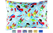 `TODDLER PILLOWCASE - Fits all 33cm x 46cm and 33cm x 48cm pillows - Fun Designs that Kids Love - High Quality Envelope Style - Hand Crafted in OHIO -