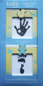 Baby's First Prints Footprint and Handprint Frames by Stepping Stones