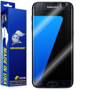 ArmorSuit MilitaryShield - Samsung Galaxy S7 Edge Screen Protector (Case Friendly) Anti-Bubble Ultra HD Shield w/ Lifetime Replacements