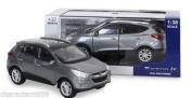 for Hyundai Collection Miniature car toy 1:38 Diecast car scale Tucson Silver!!KOREA