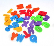 CosCosX 36pcs Learn Letters & Numbers Stick Floating Foam Baby Bathroom Water Toy