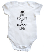 I Can't Keep Calm I'm One Today baby vest boys girls