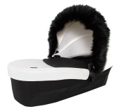 It's a Baby Universal Fur Trim For Pushchair Hood