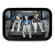 Exotic Life Backseat Baby Car View Rear Mirror 360 Degree Rotation Sucker Lock Car Interior Auxiliary Mirror Baby Kid Safety Care