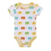 Newborn Baby Cute Elephant Bodysuit Romper Onesies