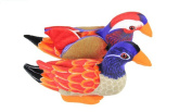 Drasawee Couple Of Mandarin Duck Plush Toy Creative Wedding Gift Chinese Tarditional Doll