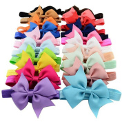 Ularma 20PCS Baby Girls Elastic Headbands Headband Photography