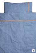 Farg Form Skummis Children's Bedset Blue/Orange