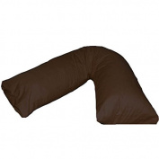 V-Shaped Orthopaedic Luxury Pillow With Free Pillow Case Nursing Pregnancy Back Support Pillow