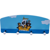 Bieco Pirate Coat Hooks with 4 Hooks High Quality