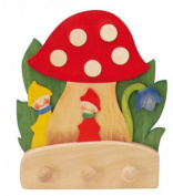 Kinderkram (Ostheimer) 5520144 - Coat Rack Mushroom with Dwarves