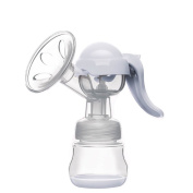 New Pregnant Women Milker Manual Breast Pump 150ml Hand Breast Pump With Bottle