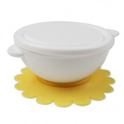 Kasstino Flower Sucker FDA Baby Bowl Suction with Lip Microwave Oven Using for Toddlers