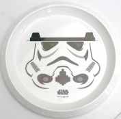 Childrens Plactic tableware - Star Wars - Storm Trooper - Plate, Bowl, Cup with straw and lid