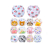 CuteOn 10 pack Baby Kids Potty Training Pants Washable Cloth Nappy Nappy Underwear