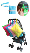 QIYUSHOW 5pcs Baby Nappy Bags Mummy Bag Auxiliary Bag