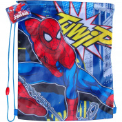 MARVEL SpiderMan Drawstring School Sports Gym & Swimming Bag