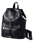 New Vintage Style Casual Women Real Genuine Leather Backpack Fashion Shoolbag Camping Bag Shoulder Bag