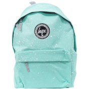 Just Hype Backpack Speckled Mint with White