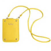 Women's Clutch Yellow jaune lemon