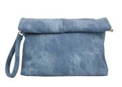 PB-SOAR Women's Retro Clutch Envelope Handbag Crossbody Bag Wristlet Evening Bag Purse with Shoulder Strap, 7 Colours Available