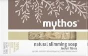 MYTHOS NATURAL SLIMMING SOAP 100% NATURAL BASE ALL SKIN TYPES LOOFAH FIBRES 100 GR.
