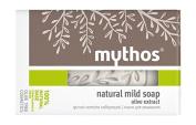 MYTHOS NATURAL CLEANSING SOAP 100% NATURAL BASE DRY & SENSITIVE SKIN OLIVE 100 GR.