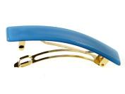 Brigitte Blue Barrette Pantone Trend Colour   Handmade in France